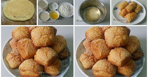 cara membuat roti goreng dengan fermipan resep roti goreng wijen lembut dan renyah