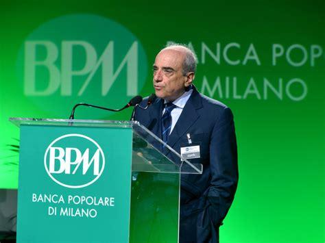 banco popolare gruppo bancario fusione bpm banco popolare nasce terzo gruppo bancario