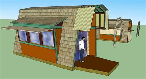 tiny a frame house plans tiny gambrel a frame