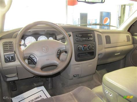 replacement dash for 2002 dodge ram 1500 2002 dodge ram 1500 slt cab taupe dashboard photo