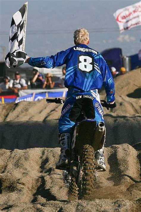 signed motocross jersey grant langston 111 signed motocross ktm thor pants