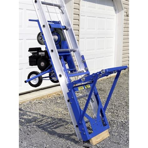 400 Lb Capacity Ladder by Safety Hoist Hd 400 B S Engine 400 Lb Capacity Ladder