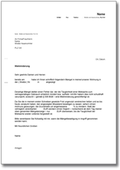 Antrag Mietminderung Vorlage Beliebte Downloads Haus Wohnen 187 Dokumente Vorlagen