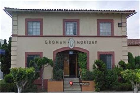 groman mortuaries funeral home los angeles california