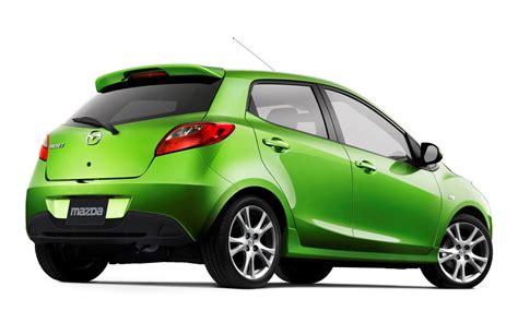 mazda 2 green mazda 2 lime green rear low angle wallpaper 1440 215 900