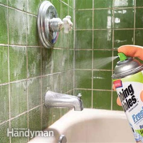 How To Remove Soap Scum From Tile Shower Floor by How To Remove Water Stains The Family Handyman