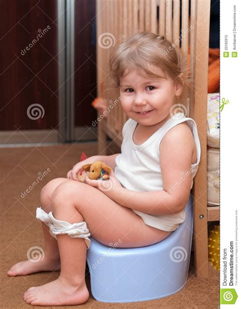 Sitting On The by Sitting On A Potty Stock Image Image 20165915