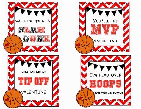 basketball valentines you ve been framed card