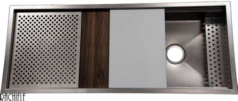 rachiele stainless steel sinks custom made stainless steel mount and workstation