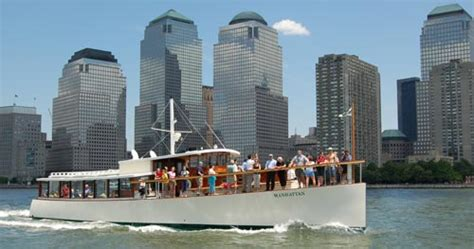boat tour nyc architecture classic harbor line aiany new york city private