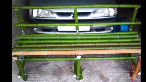 Fabriquer Des Objets En Bambou by Banc En Bambou La Vid 233 O Fait Le 30 07 2014 Fait
