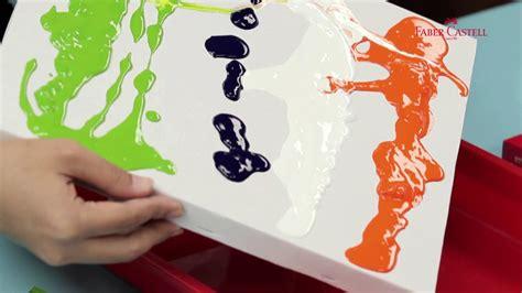 acrylic paint faber castell acrylic colour faber castell fluid painting