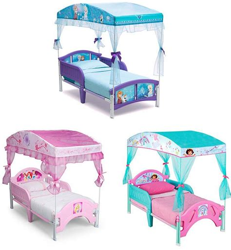 disney princess toddler bed with canopy delta children canopy toddler bed disney princess ebay