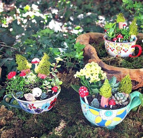 cute garden 9 cute tea cup gardens