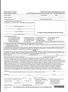 Emergency Room Release Form Template by Hospital Emergency Room Discharge Forms