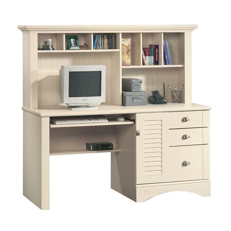 computer desk w hutch sauder harbor view computer desk w hutch