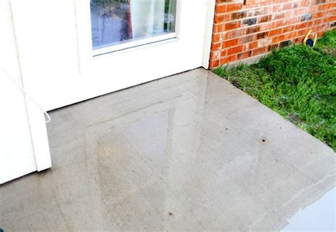 diy miracle concrete patio cleaner outdoor living