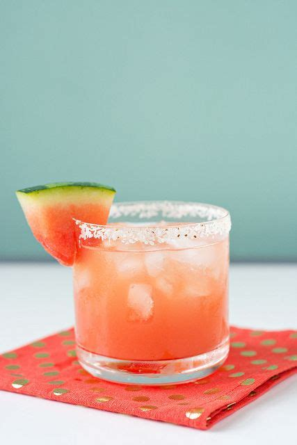 watermelon margarita fresh watermelon margaritas recipe dishmaps
