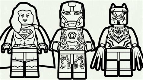 lego hulkbuster coloring pages lego iron man vs supergirl black panther view larger