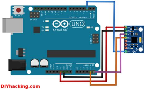 arduino gyroscope tutorial arduino mpu 6050 best imu sensor tutorial diy hacking