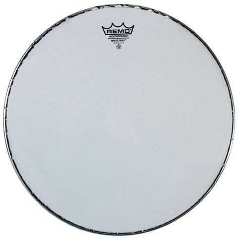 Remo 13 White Max Ks 2613 00 Marching Snare Drum Top Batter marching snare heads remo cybermax lone percussion