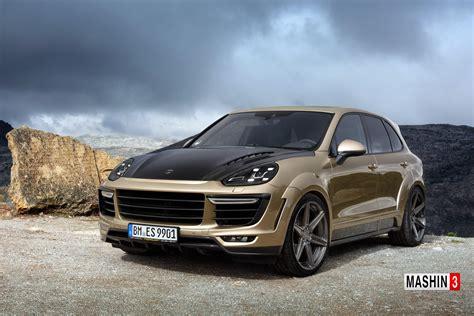 Porsche Cayenne Gold by Porsche Cayenne Turbo Gt 2015 Gold
