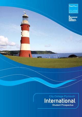 plymouth prospectus international student prospectus by city college plymouth