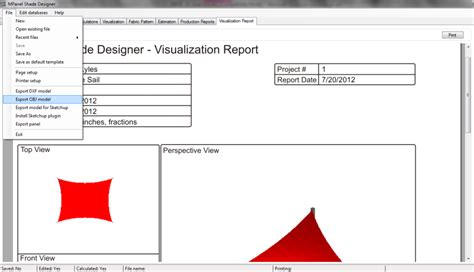awning design software using mpanel with awning composer