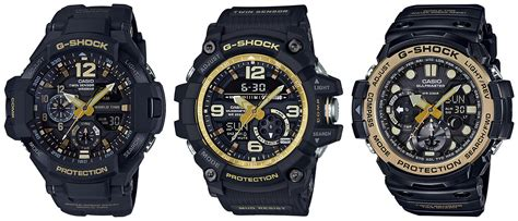 G Shock Gshock Gg 1100 Black Gold g shock ga 1100gb 1a gg 1000gb 1a gn 1000gb 1a black