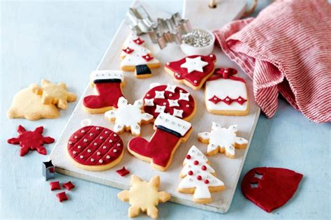 christmas shortbread recipe taste com au