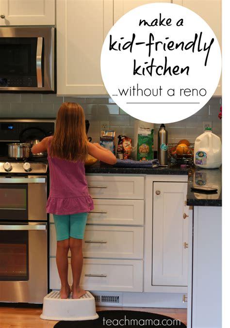 kid friendly kitchen make a kid friendly kitchen without a major renovation
