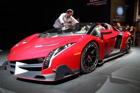 How Much Money Is A Lamborghini Lamborghini Veneno Roadster At Booth 25