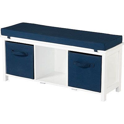 cubby bench with cushion storage bench furniture kid cushion white hall entry