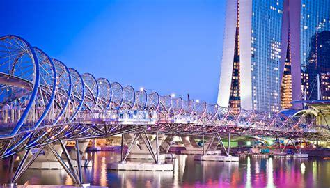 helix bridge helix bridge meinhardt transforming cities shaping the future