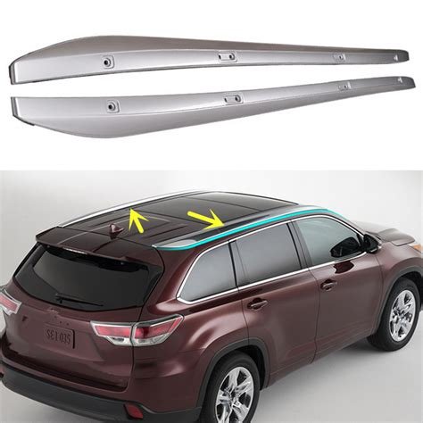 toyota highlander luggage rack for toyota highlander 2014 2016 car top roof rack cross
