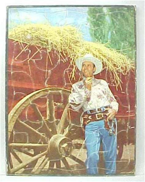 film cowboy gene crossword clue cowboy western heroes movie tv vintage antique