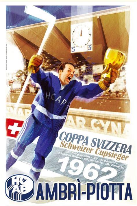 ambri hair ambri piotta hc ice hockey vintage posters my official