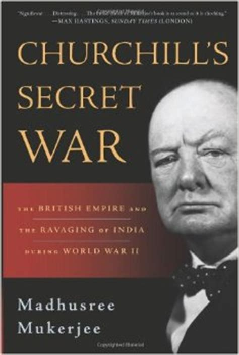woudhuysen when churchill starved india