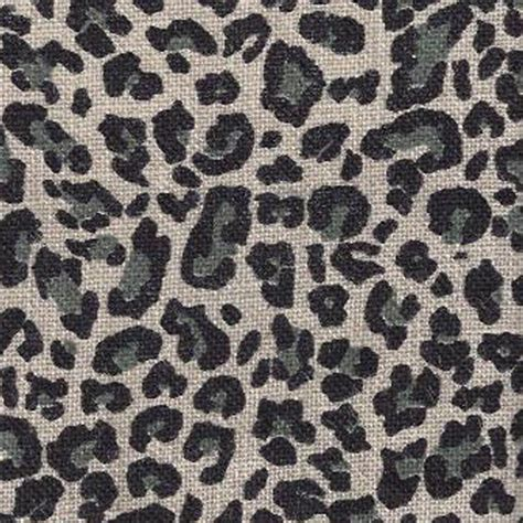 Animal Upholstery Fabric Blv 111 Black Gray Animal Print Burlap Drapery Fabric