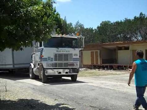 goreset mobile home movers kerrville tx moving a