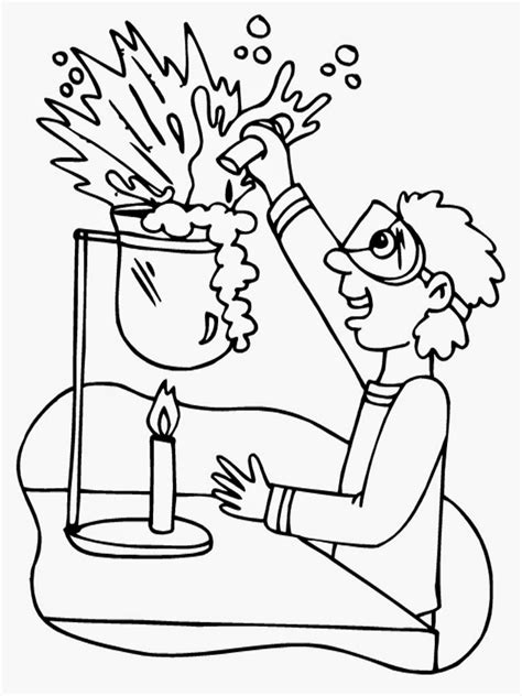 coloring book for scientists free mad scientist coloring pages