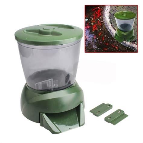 gross green automatic aquarium digital tank pond fish food