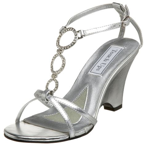 Silver Bridesmaid Shoes by Silver Wedge Bridesmaid Shoes Comfortable And