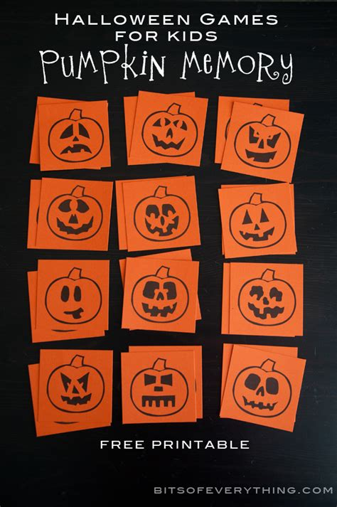printable games halloween halloween games for kids bits of everything