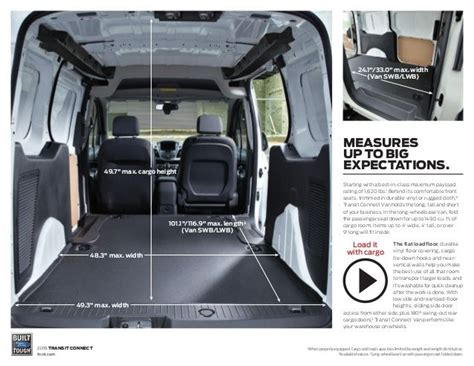 Ford Transit Interior Dimensions by Best 20 Ford Transit Custom Ideas On Ford