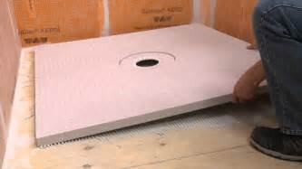 extending a schluter 174 kerdi st shower tray with pack