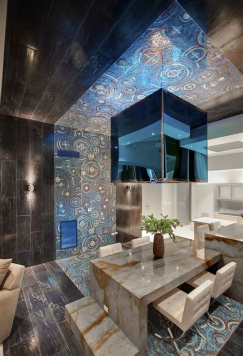extremely modern  cool apartment interior design digsdigs