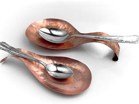 Kitchen Spoon Rest by Spoon Rest Copper Handmade To Order Kitchen Accessory