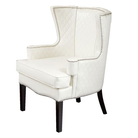 White Accent Chair with White Accent Chair Hansel White Accent Chair Accent Chairs White Shop Skyline Furniture
