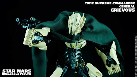 Lego Starwars Buildable Figures 75112 General Grievous Promo opelouis s toys collection lego wars buildable figure 75112 general grievous